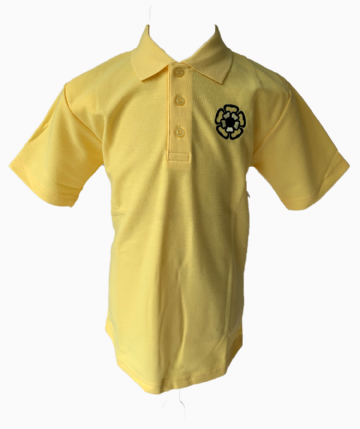 St Teresa's P.E. Polo Shirt - Yellow